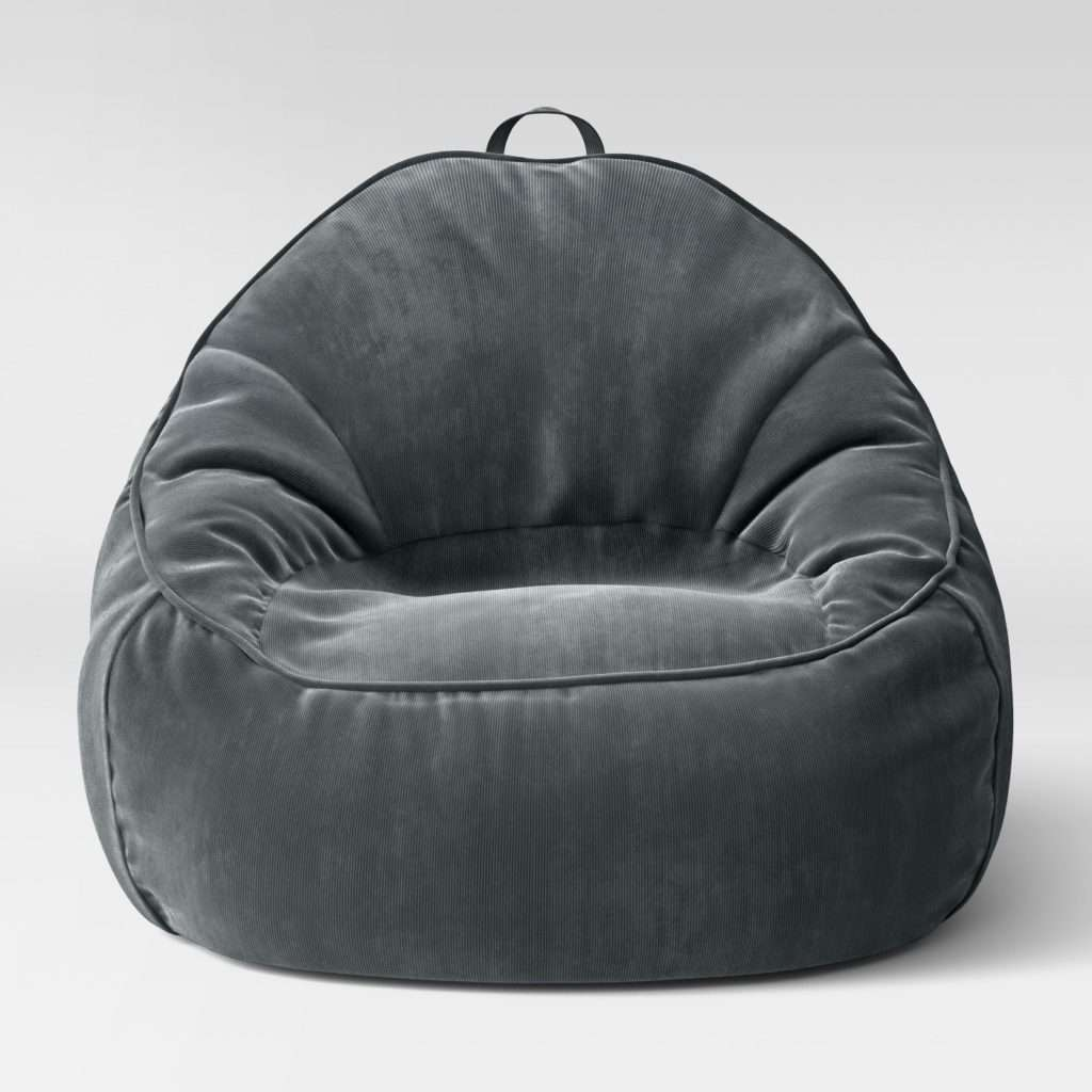 Ghế lười quả lê (màu xám)