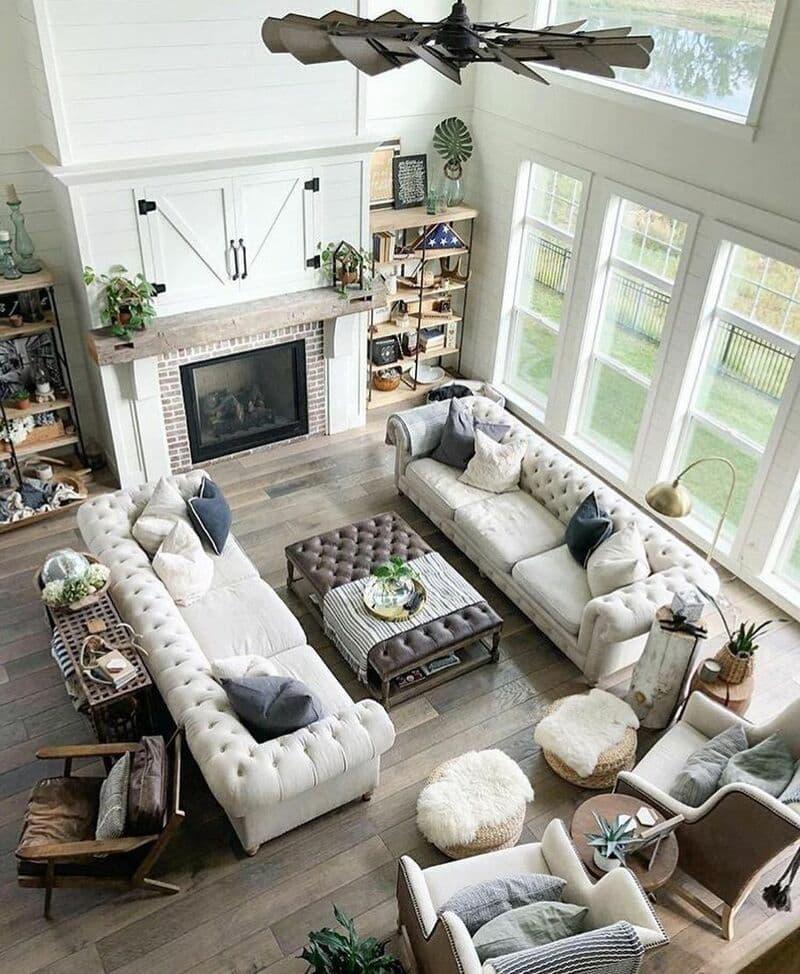 Bố trí nội thất phòng khách