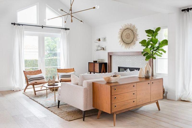 Nội thất phòng khách căn hộ đẹp, hiện đại