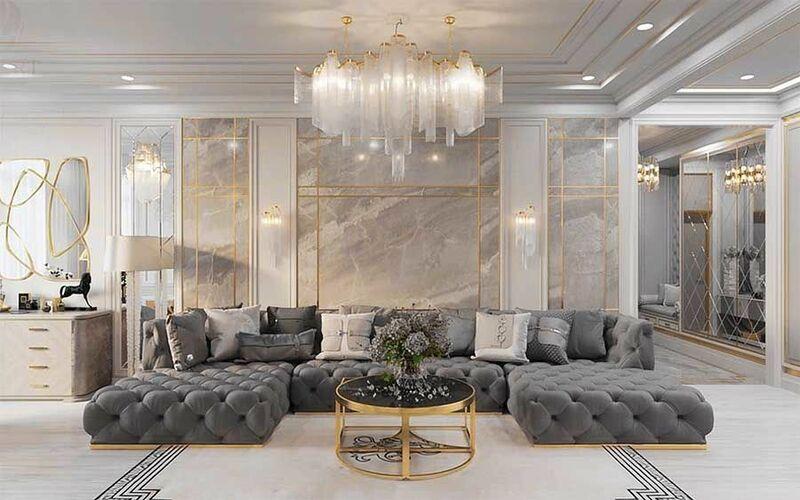 Phòng khách rộng đẹp