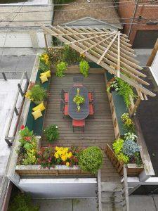 Thiết kế sân thượng nhà ống, nhà phố đẹp